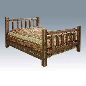 Amish Pine Bed